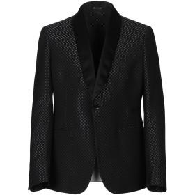 《セール開催中》BRIAN DALES メンズ テーラードジャケット ブラック 48 ウール 85% / シルク 15%