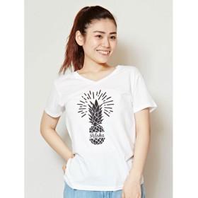 Kahiko AlohaパイナップルTシャツ