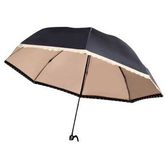 すっぽり入れるドーム型晴雨兼用傘(T)