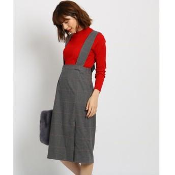 AG by aquagirl / エージー バイ アクアガール バックリボンチェックジャンパースカート