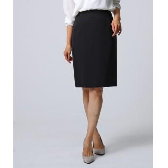UNTITLED / アンタイトル 【洗える】ダブルクロスタイトスカート