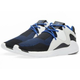 送料無料 日本未発売 adidas Y-3 QR Knit Run Electric Blue, Black & White AQ5723