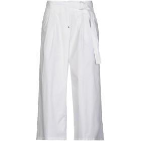 《期間限定セール開催中!》WHITE SAND 88 レディース パンツ ホワイト 40 コットン 100%