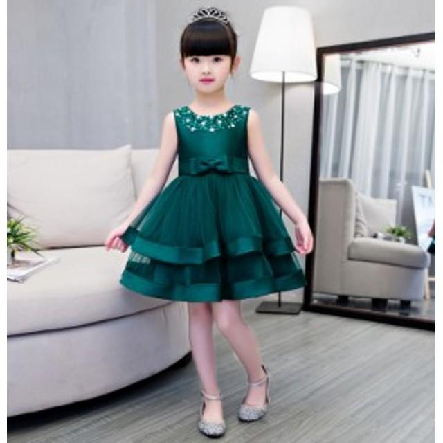 8abf385410f7c 韓国版 キッズ 礼服 ドレス 女の子 ライ常備 ピアノ発表会 衣装 ピアノ 発表会 ドレス