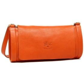 【送料無料】イルビゾンテ ショルダーバッグ レディース IL BISONTE A1464 P 166 オレンジ ボーナス