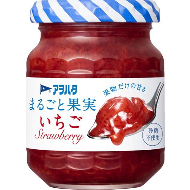 アヲハタ まるごと果実 いちご (125g)