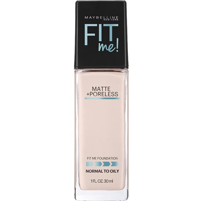 メイベリン フィットミー リキッド ファンデーション 103 明るい肌色 ピンク系 (30mL)