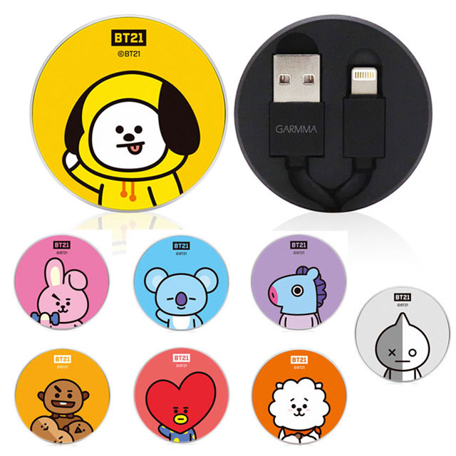 GARMMA 宇宙明星BT21 Lightning 8pin 伸縮式傳輸線