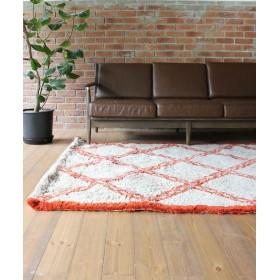 journal standard Furniture ≪予約≫LAVAL RUG ORDER 140200 オレンジ フリー