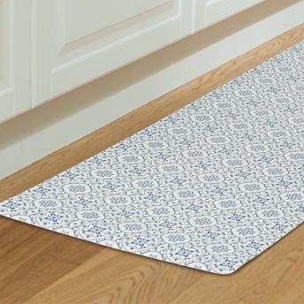 キッチン用フロアマット ワイドサイズ(タイル BL 60X180) ニトリ 『玄関先迄納品』