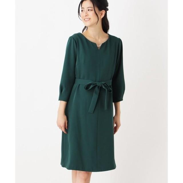 grove / グローブ 2WAYキーネックアクセサリー付きドレス