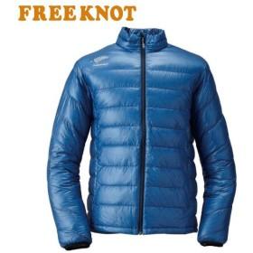 FREEKNOT/フリーノット 18FW FOURON ウルトラライトダウンジャケット Y1128 ブルー