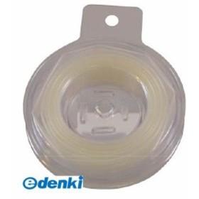 トラスコ [TRP6.4-3.0-2MTM]熱収縮チューブ 収縮率2:1 透明TRP6.43.02MTM3100
