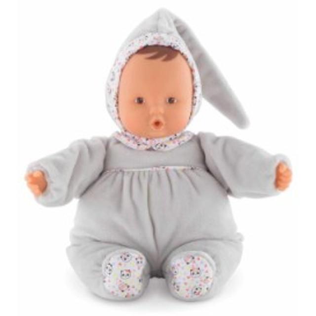 コロールCorolle mon doudou Babipouce Happy Panda Toy Baby Doll, Pink