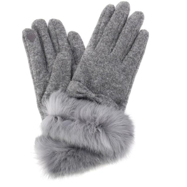 grove(グローブ) ラビットファー手袋