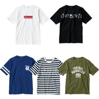 レディース半袖プリントTシャツ