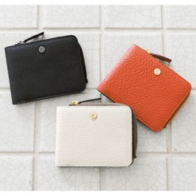 PELLE BORSA/ペレボルサ フラット2つ折り財布ブラック