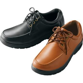 【格安-男性靴】メンズゆったり幅広4E防水カジュアルシューズ