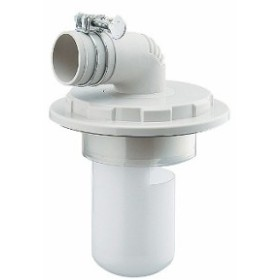 洗濯機用VP・VU兼用排水トラップ