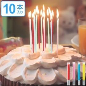 キャンドル パーティーキャンドル 12cmミニスリムシルバー巻きパステル ( ローソク ろうそく ケーキ用 ケーキキャンドル シンプル 細長