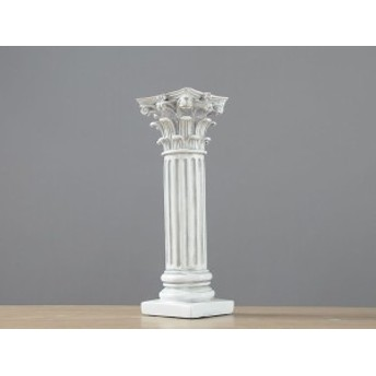 置物 神殿の柱モチーフ 古代ギリシャ様式 石膏柱風 アンティーク調