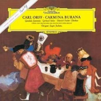 Orff オルフ / カルミナ・ブラーナ オイゲン・ヨッフム&ベルリン・ドイツ・オペラ、ヤノヴィッツ、シュトルツェ、フィッシャー=ディースカウ(シングルレイヤー)【SACD】