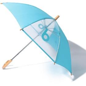こどもビームス こども ビームス / 窓つき bロゴ 傘 (40~50cm) レディース BLUE 40cm 【KODOMOBEAMS】
