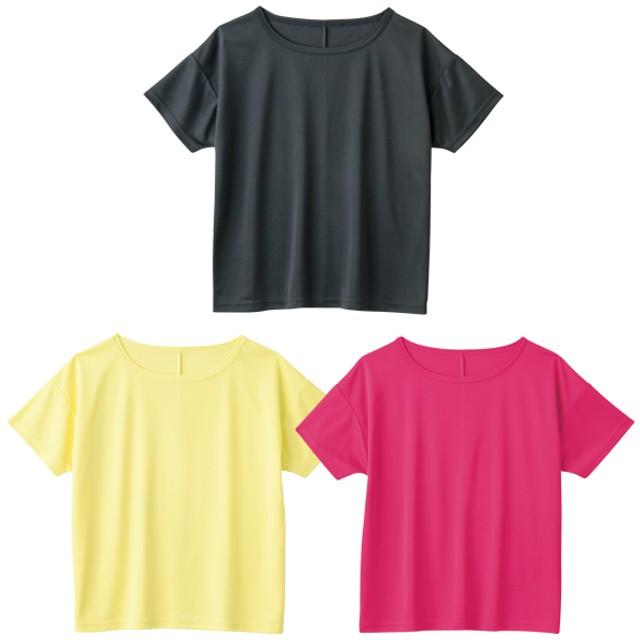 レディース半袖ドライTシャツ