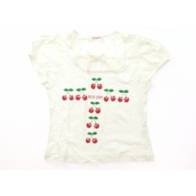 【メゾピアノ/mezzopiano】Tシャツ・カットソー 120サイズ 女の子【USED子供服・ベビー服】(299321)