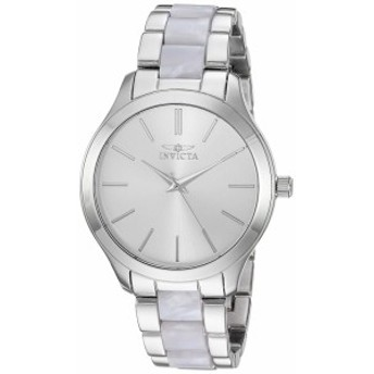 【当店1年保証】インヴィクタInvicta Women's Angel Quartz Watch with Stainless-Steel Strap, Silve