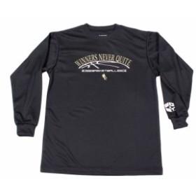 エックスティーエス(XTS)ジュニア DP WINNERS NEVER QUITE 長袖Tシャツ 751G8ES8730 BLK (Jr)