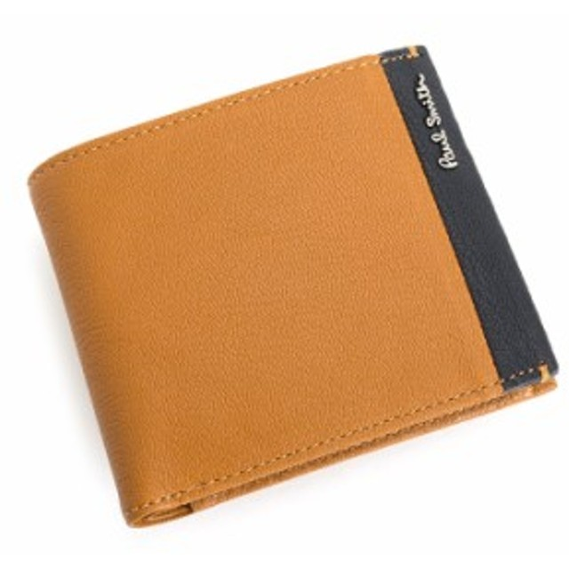 03f110d16de0 展示品箱なし ポールスミス 財布 二つ折り財布 オレンジ Paul Smith psu850-42