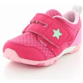 ムーンスター キャロット 子供靴 ベビーシューズ MS B88 チェリー ベビーカジュアルシューズ 高機能