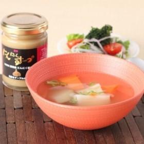 人気 詰め合わせ 送料無料 贈り物 香り豊かな青森産にんにく100%使用! にんにくスープ〈小〉 ポイント消化