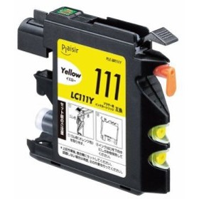 プレジール PLE-BR111Y ブラザー LC111Y互換インクカートリッジ イエロー(染料)