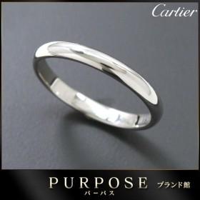 カルティエ Cartier クラシック #52 リング Pt950 幅2.5mm プラチナ 指輪 【証明書付き】