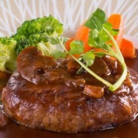 松阪牛ハンバーグ 4個入り 高級ハンバーグ ビーフ100% 松坂牛 ハンバーグ 温めるだけ 冷凍惣菜 国産 和牛 三重県