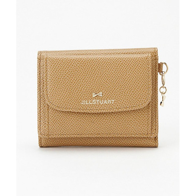 22c562d19d3b <JILLSTUART/ジルスチュアート> 「ビスコッティ」三つ折り札入れ(JSLW8ES2) キャメル. トップ ファッション 財布 レディース財布