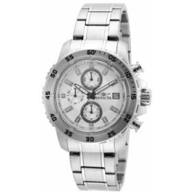 【当店1年保証】インヴィクタInvicta 21570 Mens Pro Diver Silver Steel Chronograph Watch