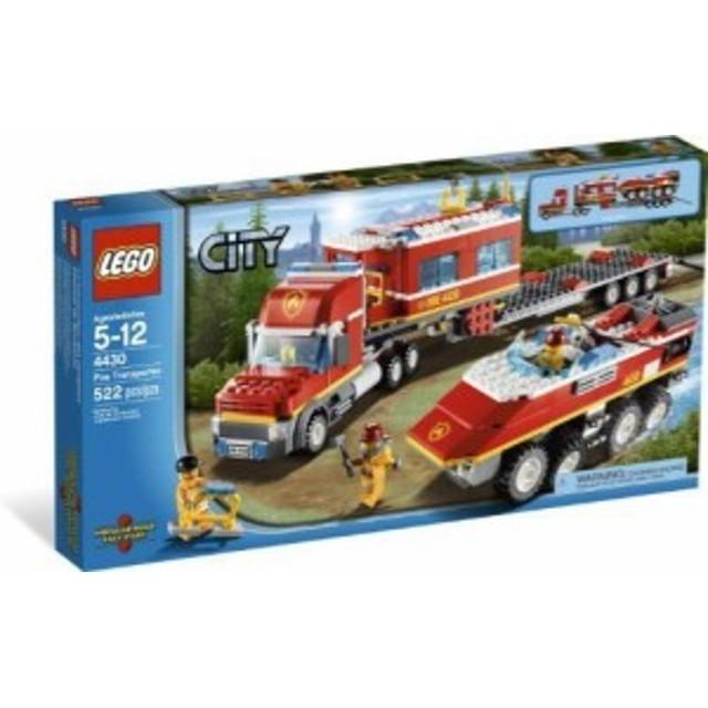 レゴLEGO CITY Fire Transporter 4430
