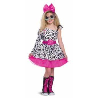 エルオーエルサプライズL.O.L. Surprise! Diva Halloween Costume Deluxe MEDIUM 7/8