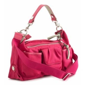 ジョージジーナ&ルーシー バッグ ハンドバッグ ショルダーバッグ 赤(レッド。ピンクがかった赤系です。) GEORGEGINA