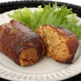 お取り寄せ 肉巻きおにぎり 8個セット 国産豚肉 秘伝のタレ 日向屋   株式会社 日向屋 宮崎県