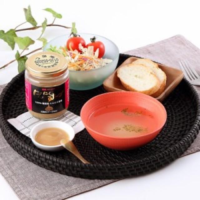 人気 詰め合わせ 送料無料 贈り物 香り豊かな青森産にんにく100%使用! にんにくスープ〈中〉