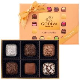 【期間限定】ゴディバ キューブトリュフアソートメント6粒入 たまひよSHOP・たまひよの内祝い