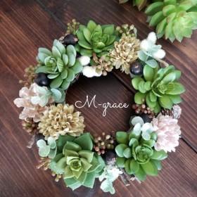 ナチュラルリース Natural wreath