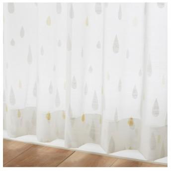 【送料無料!】北欧調しずく柄レースカーテン レースカーテン・ボイルカーテン, Curtains, sheer curtains, net curtains(ニッセン、nissen)