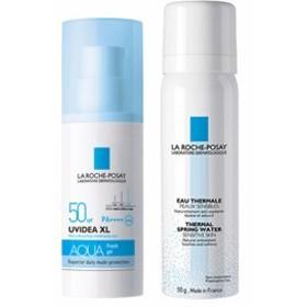 【数量限定】ラロッシュポゼ 敏感肌用 UVイデアXL アクアフレッシュジェルクリーム SPF50 キット(ターマルウォーター、バ