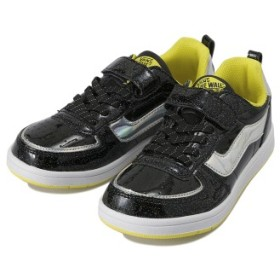 キッズ 【VANS】 ヴァンズ LENG V2003K HOLOGRAM BLACK/YELLOW 15cm