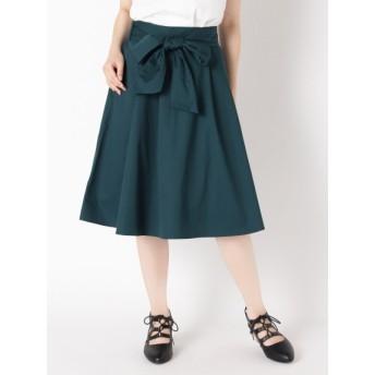 【大きいサイズレディース】【LL-4L展開】スキスカロングスカート スカート ロングスカート